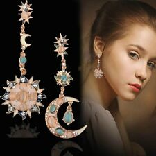 Women`s Fashion Ear Stud Earrings Silver /Gold Charm Crystal Rhinestone Jewelry