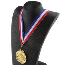 Goldmedaille Kinder 12er Set Medaille Goldstück Medaillenset Fackel Gold Medal
