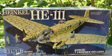 NEW VINTAGE 1976 MPC HEINKEL HE-111 1:72 SCALE MODEL AIRPLANE KIT