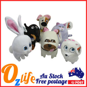 6pcs Bulk Pets Soft Plush 15cm Movie Theme Toy Birthday Gifts Party Kids Bag