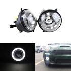 For Mini Cooper R55 R56 R57 R58 R59 R60 R61 White Led DRL Driving Fog Lamp Light