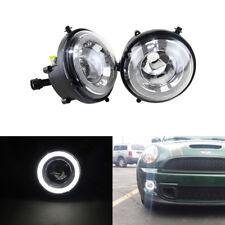 For Mini Cooper R55 R56 R57 R58 R59 R60 R61 White Led DRL Driving Fog Lamp Kits