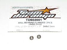 Team Durango 1/10 DEX410v4 EP 4WD Buggy TD602001 Ball Bearing Flanged 3x6x2.5mm