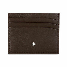 Montblanc Leather Business & Credit Card Cases for Men