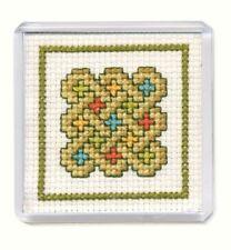 Celtic Knot Fridge Magnet Cross Stitch Kit (Textile Heritage)