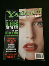 YAHOO July 1998 X-Files Cover