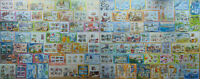1,500 different MINI SHEETS and SOUVENIR SHEETS Composition Lot many new sheets
