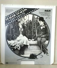 City Lights - Charlie Chaplin - Ced Videodisc Selectavision