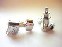 Schaller M6 Tuners (135 Grad) Mechaniken 6 links Nickel
