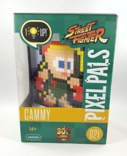 PDP Capcom Pixel Pals Street Fighter 30th Anniversary Light Up Cammy #021