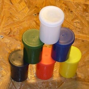 Geocaching Geocache- Filmdose, Fotodose 37mm x 51mm hoch Micro 1Stck oder 6Stck