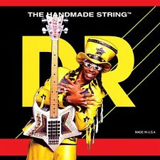 DR BZ5-45 Bootzillas Coated Bootsy Collins 5-String Bass Guitar Strings 45-125