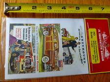 JL Innovative Design HO #172 Auto & Transportation Billboardd Signs 40's & 50's