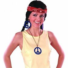 Boucles D'oreilles Pendentif Hippie coloris assortis