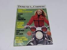 DOMENICA DEL CORRIERE N° 12 DEL 1972 RAFFAELLA CARRA' POSTER MOTO DA CROSS