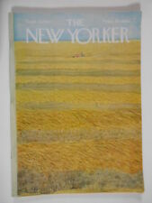 New Yorker Magazine 1967 September 16 Ilonka Karasz Muriel Spark Joseph Levine