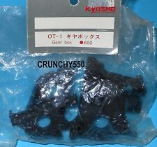 Kyosho OT-1 Turbo Optima Javelin Salute Gear Box Cases Vintage RC Part