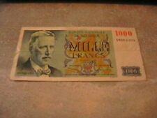 BELGIE 1000 FRANK 1950 -TYPE EEUWFEEST.