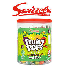 SWIZZELS FRUITY LOLLY POPS LOLLIES SWEETS HALLOWEEN TRICK OR TREATS KIDS CANDY