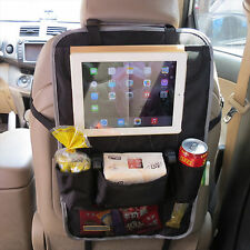 2 x Back Car Van Seat Kid Organiser Multi-pocket Headrest Laptop Holder Storage