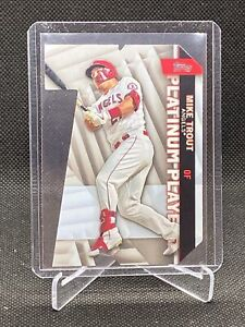 2021 Topps Series 1 Mike Trout Platinum Players PDC-1