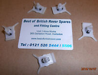 Rover 75 MG ZT Chrome Or Painted Sill Finisher Retaining Clip x 5 New DDQ100460