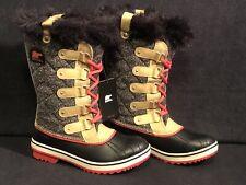 New Women's 7 Sorel Tofino Herringbone Curry Waterproof Snow Boots NL2012-373