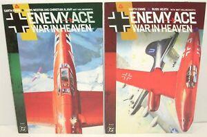 DC Comics ENEMY ACE War in Heaven 1 & 2 (of 2) Complete Series Garth Ennis 2001