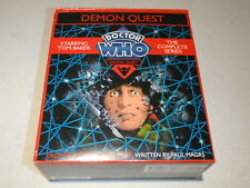 Doctor Who Demon Quest The Complete Series CD Audio Book Tom Baker