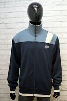 Felpa Uomo Puma Taglia Size XL 2XL Pullover Maglione Maglia Cardigan Sweater Blu