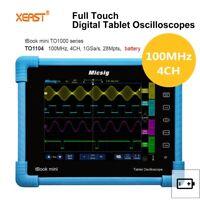 Pro Micsig TO1104 Digital LCD Oscilloscope 100MHz Bandwidth 4CH 1G Sa/s 28Mpts