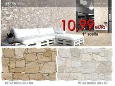 Piastrelle pareti effetto pietra in vendita ebay