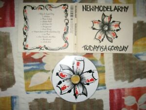 NEW MODEL ARMY Today Is A Good Day CD fields of the nephilim fliehende stürme