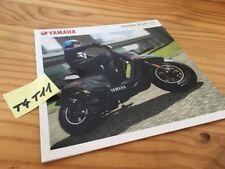 Yamaha 2010 scooter 50 BW'S Slider Aerox moto catalogue prospectus brochure