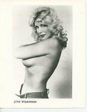 8 X 10 Photo Actress & Playboy Model June Wilkinson