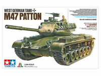 Tamiya West German Tank M47 Patton 1:35 scale tank model kit 37028