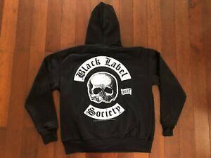 VINTAGE DEADSTOCK 2003 BLACK LABEL SOCIETY BLS HOODIE SWEATSHIRT BRAVADO L SDMF