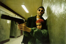 "LEON THE PROFESSIONAL MOVIE Silk Fabric Poster Natalie Portman 11""x17"""