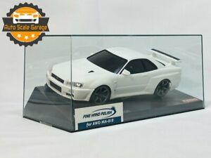 Kyosho Mini-Z Auto Scale Body NISSAN SKYLINE R34 GT-R V-SpecⅡ Nur White - RARE