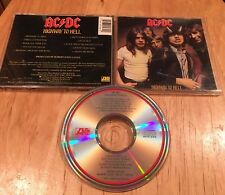 AC/DC - Highway To Hell CD 1st US press CRC A2 19244 metallica guns n roses
