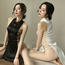 Sexy Lingerie Fishnet Bodystocking Crotchless OpenCrotch Stocking Nightwear Gift