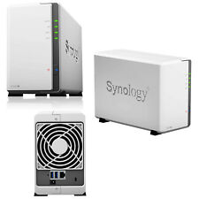 Nas Synology DiskStation DS220J Collegamento ethernet LAN Mini Tower Bianco