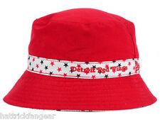 DETROIT RED WINGS NEW ERA REVERSIBLE NHL HOCKEY TODDLER BUCKET CAP/HAT