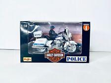 Maisto 1/18 Harley NYPD Highway Patrol Police Dept Motorcycle Series 4 New NIB
