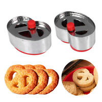Baking Tools Kitchen Cookie Cutter Plunger Mould Sugar Craft Fondant Cake Mold