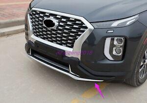 2PCS Front Rear Bumper Board Guard Protector Fit for Hyundai Palisade 2020-2022