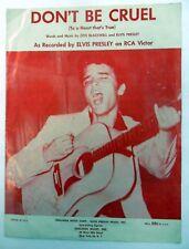 ELVIS PRESLEY Sheet Music DON'T BE CRUEL Sheldon Publ. 50's ROCKABILLY Pop #176