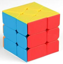 Zauberwürfel MoFangJiaoShi Windmill Cube MoYu  stickerless speedcube magic cube