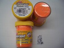 Berkley Power Bait Trout Bait Glitter Käse Flr.Orange  3x50g-Glas 100g/6,66€