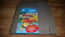 THE SIMPSONS BART VS THE SPACE MUTANTS NINTENDO NES NRMT CONDITION GAME CART